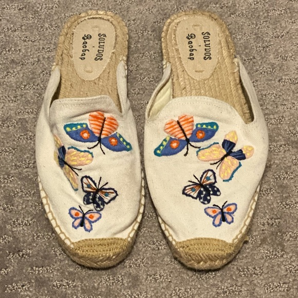 Soludos Shoes - Soludos Butterfly Espadrille Slip Ons